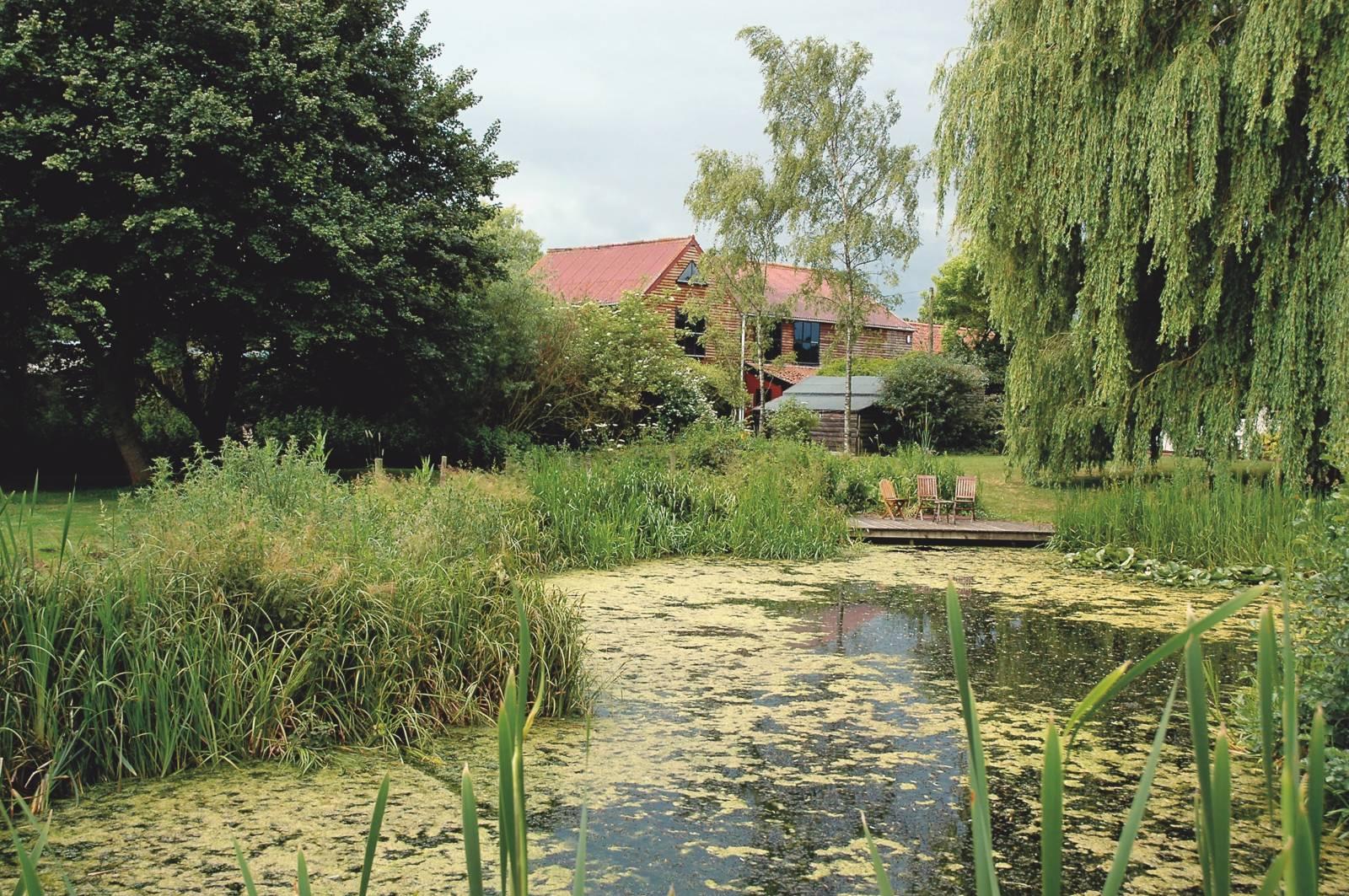 Forncett Steam Museum garden